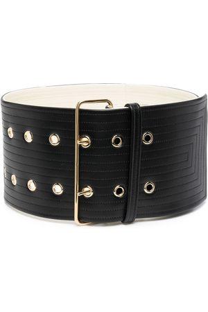 Jil Sander Double-buckle wide belt