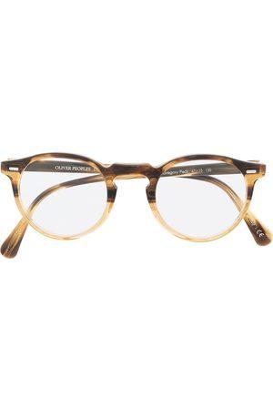 Oliver Peoples Sluneční brýle - Gregory Peck round glasses
