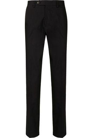 Salvatore Ferragamo Muži Rovné nohavice - Straight-leg cotton trousers