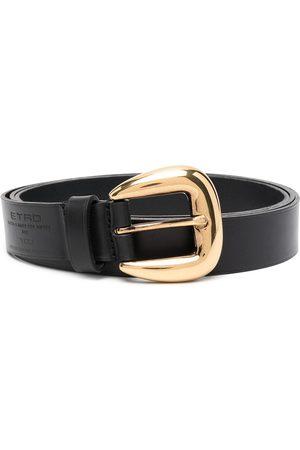 Etro Debossed logo buckle belt