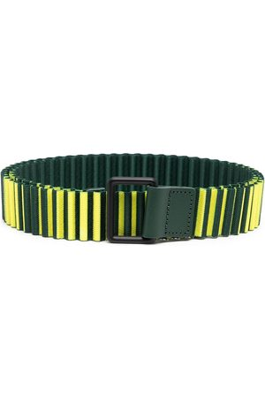 HOMME PLISSÉ ISSEY MIYAKE Pásky - Stripe snail belt
