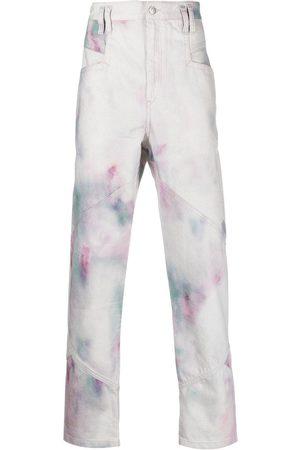 Isabel Marant Jowland tie-dye jeans