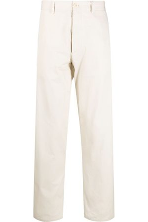 Maison Margiela Muži Chino - Straight-leg cotton chinos