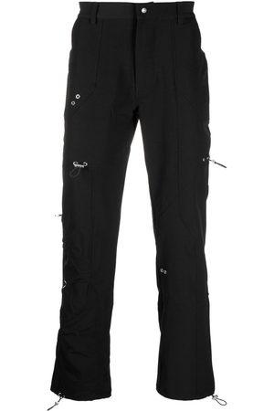 HELIOT EMIL Muži Rovné nohavice - Eyelet-embellished straight-leg trousers