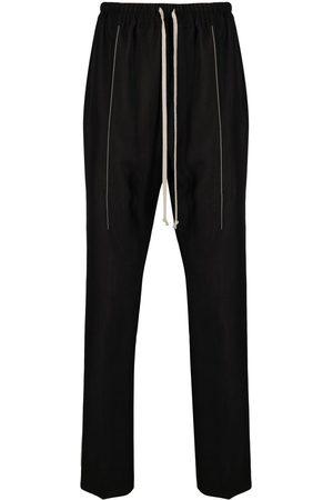 Rick Owens Muži Tepláky - Drawstring-waist trousers