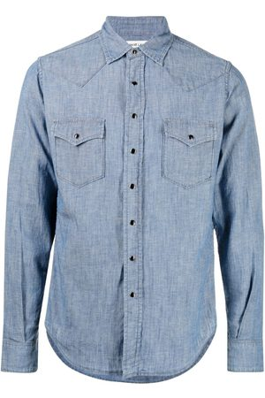 Saint Laurent Muži Košile - Chambray button-up shirt