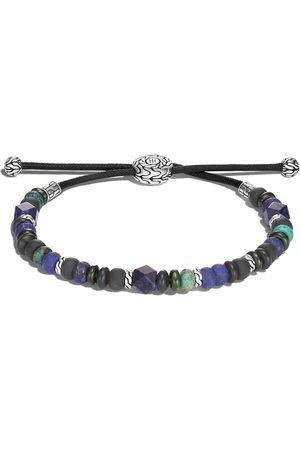 John Hardy Muži Náramky - Classic Chain silver beads pull through bracelet