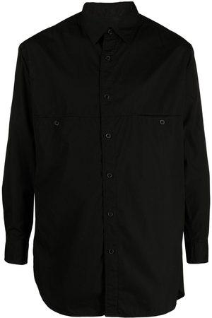 YOHJI YAMAMOTO Muži S dlouhým rukávem - Long-sleeve cotton shirt