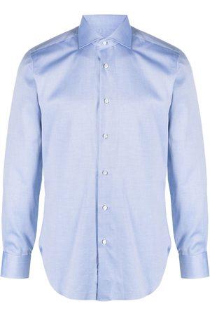 BARBA Muži S dlouhým rukávem - Long-sleeve cotton shirt