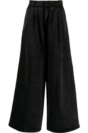 Liberal Youth Ministry Washed wide-leg trousers