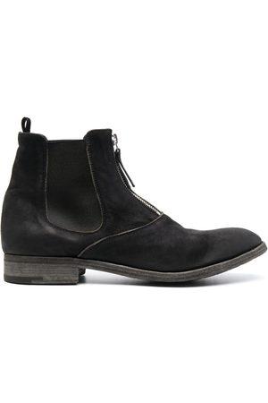 Premiata Muži Šněrovací - Front-zip desert boots
