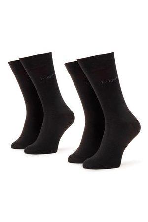 Bugatti Muži Ponožky - Sada 2 párů pánských vysokých ponožek
