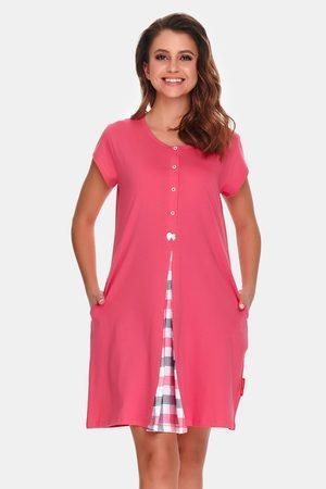 Doctor Nap Ženy Tepláky na spaní - Mateřská kojící košilka Arco Pink