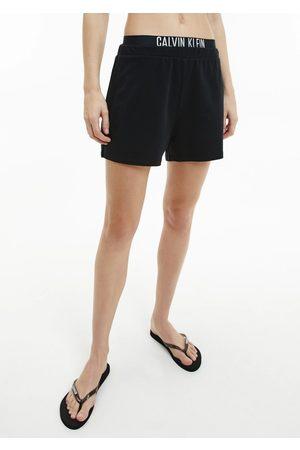 Calvin Klein Ženy Tepláky na spaní - Dámské šortky KW0KW01356 L