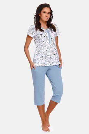 Doctor Nap Mateřské kojicí pyžamo Flower