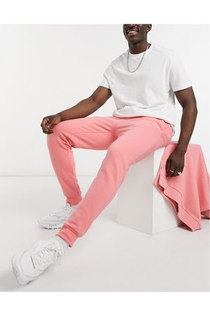 River Island Muži Tepláky - Joggers in pink