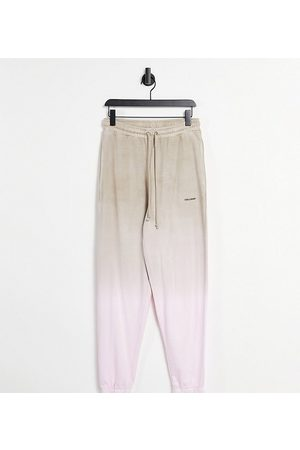 COLLUSION Tepláky - Unisex oversized joggers in ombre co-ord-Multi