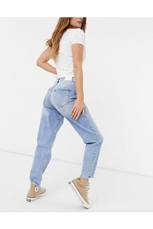 Only Veneda mom jeans in light blue