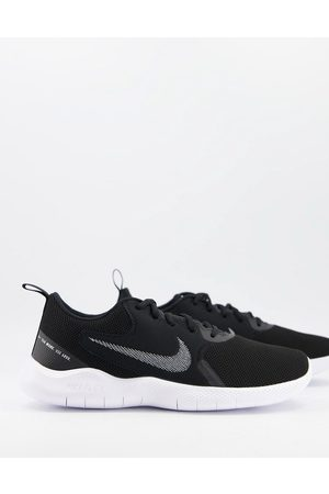 Nike Muži Sportovní boty - Flex Experience Run 10 trainers in black and white
