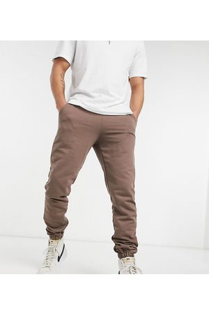 Sixth June Essential joggers in brown exclusive at ASOS