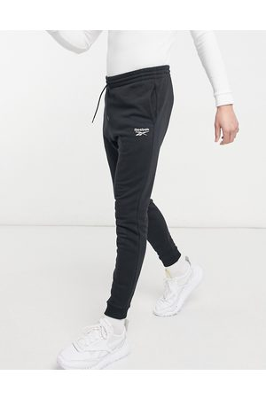 Reebok Muži Tepláky - Classics joggers in black with small logo