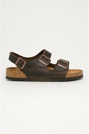 Birkenstock Kožené sandály Milano