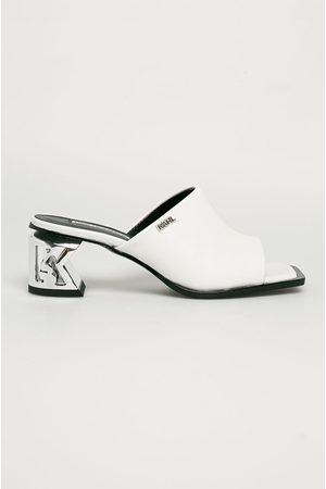 Karl Lagerfeld Kožené pantofle