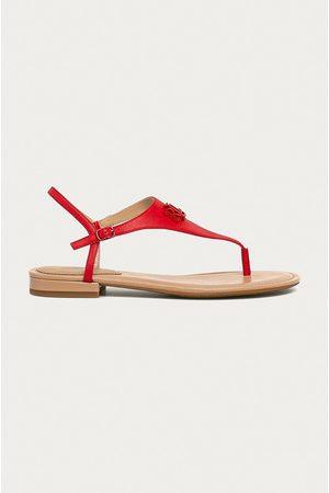 LAUREN RALPH LAUREN Ženy Sandály - Kožené sandály