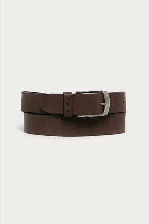 Wrangler Muži Pásky - Kožený pásek