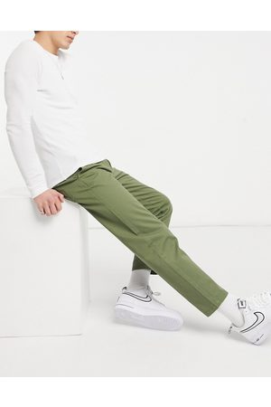 New Look Muži Chino - Original fit chino trousers in khaki-Green