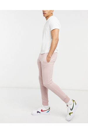 Topman Muži Tepláky - Co-ord joggers in mauve-Pink