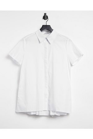 Glamorous Short sleeve shirt in white