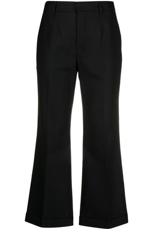 Saint Laurent Ženy Společenské - Flared tailored trousers