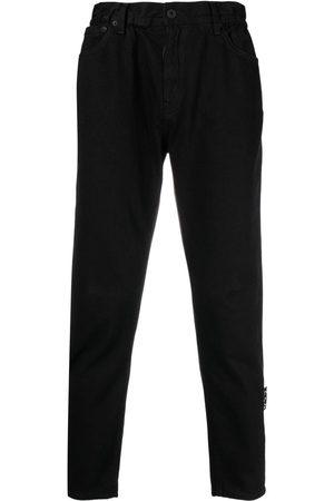 OFF-WHITE High-rise straight-leg jeans