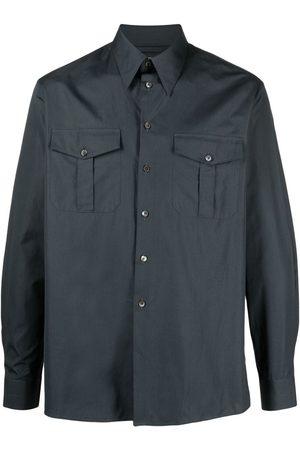 LEMAIRE Flap pocket long-sleeve shirt