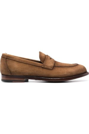 Officine creative Ivy suede penny loafers