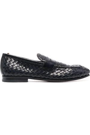 Officine creative Barona woven loafers