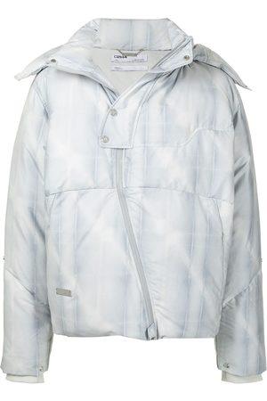 C2H4 Muži Péřové bundy - Filtered Reality puffer jacket