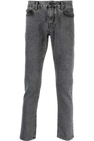 OFF-WHITE Muži Slim - Logo-print slim-fit jeans