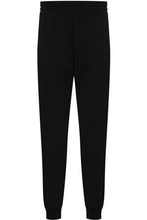 Alexander McQueen Logo-tape straight-leg track pants