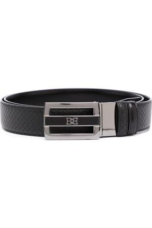 Bally Logo-plaque leather belt