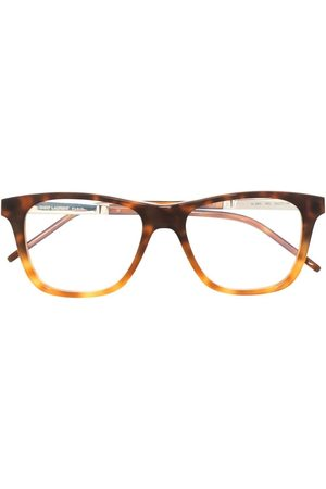 Saint Laurent Tortoise-shell D-frame glasses