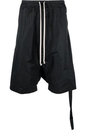 Rick Owens Muži Bermudy - Drop-crotch shorts