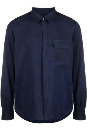 Aspesi Muži S dlouhým rukávem - Long-sleeved cotton shirt