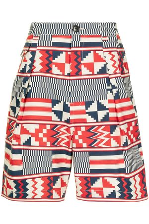 Ports V Bermudy - Geometric-print shorts