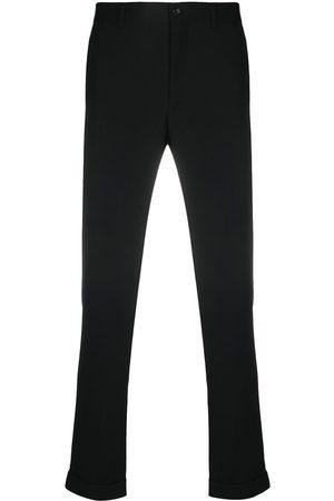 Comme des Garçons Muži Společenské - Wool gabardine cuffed trousers
