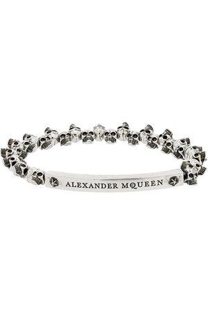 Alexander McQueen Silver mini skull bracelet