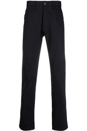 Emporio Armani High-rise straight leg trousers