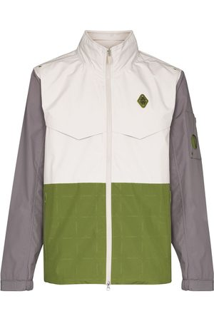 A-cold-wall* Logo-plaque panelled jacket