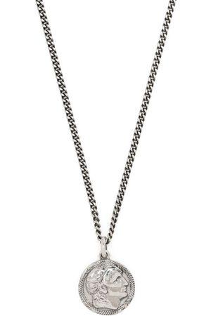 EMANUELE BICOCCHI Ceasar coin pendant necklace